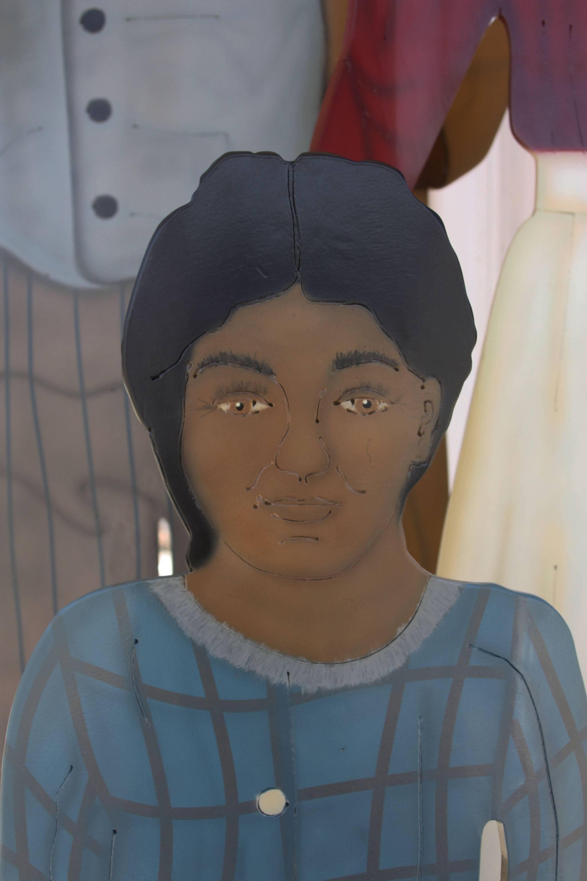 African American little girl