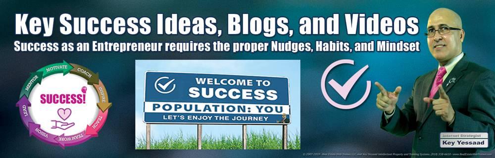 Key Success Ideas, Blogs, and Videos - #KeySuccessIdeas