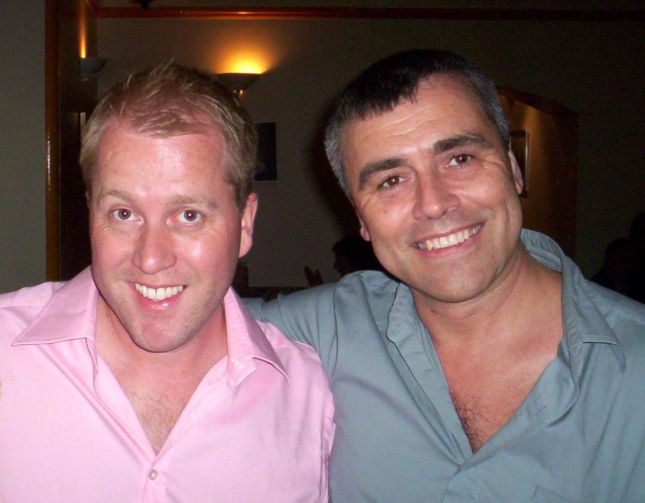 Tony (Stockwell) & I