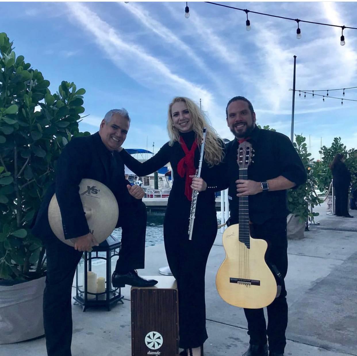 Latin/Jazz trio
