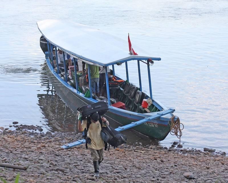 Arrival at Tambopata