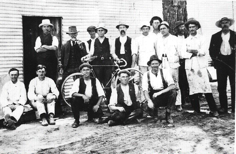 1913 Plumbers working Acton