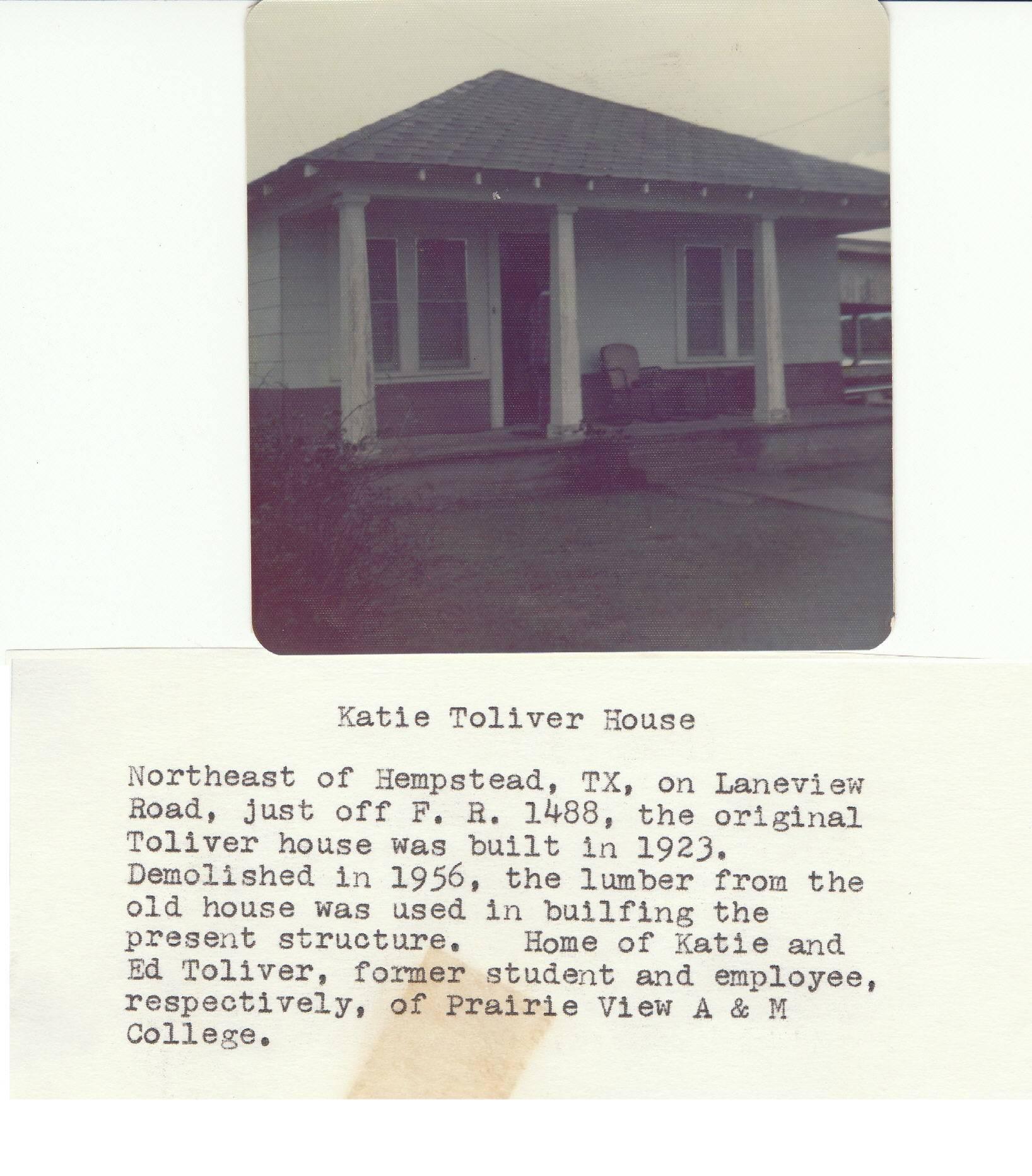 Katie Toliver Home in Hempstead
