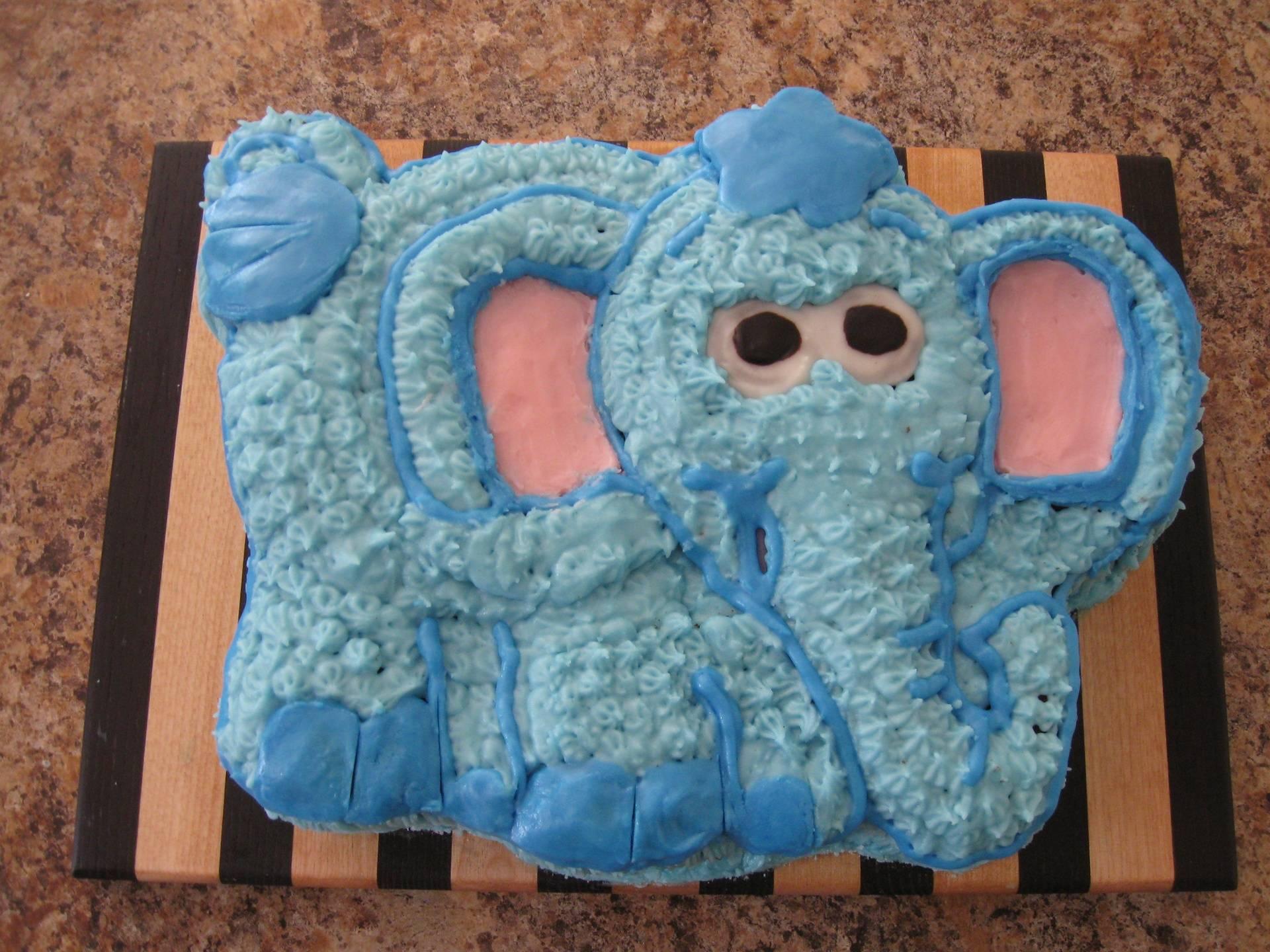 Gâteau éléphant