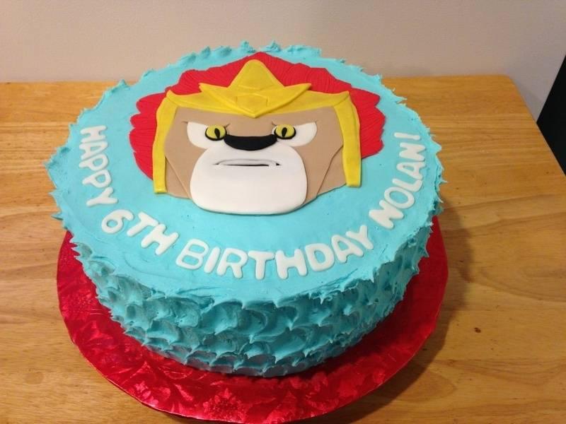 Chima Lion Cake