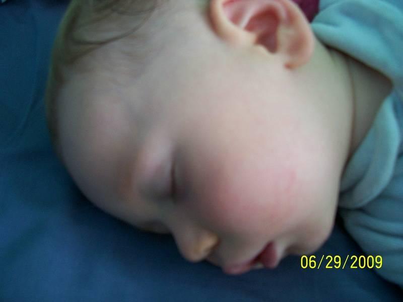 Sleeping like a baby