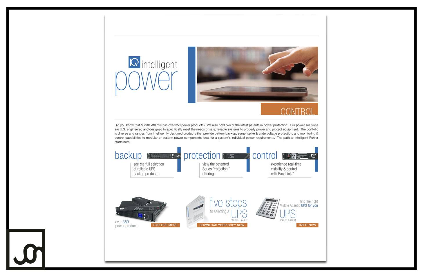Power Campaign Landing Page