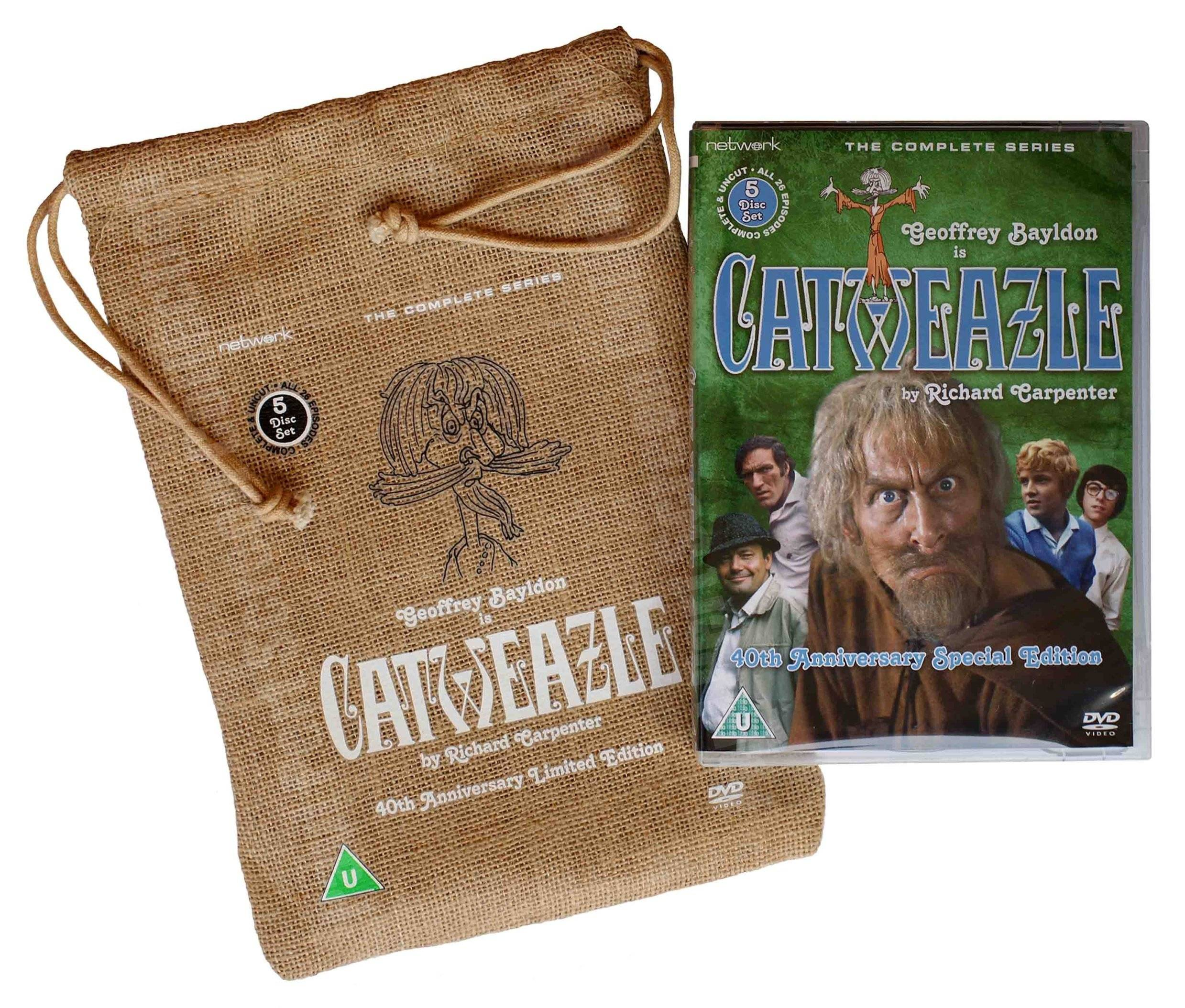 Catweazle 40th Anniversary Commemorative Set (UK reg. 2 release)
