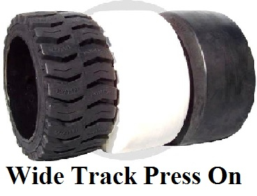 Wide Track Press On