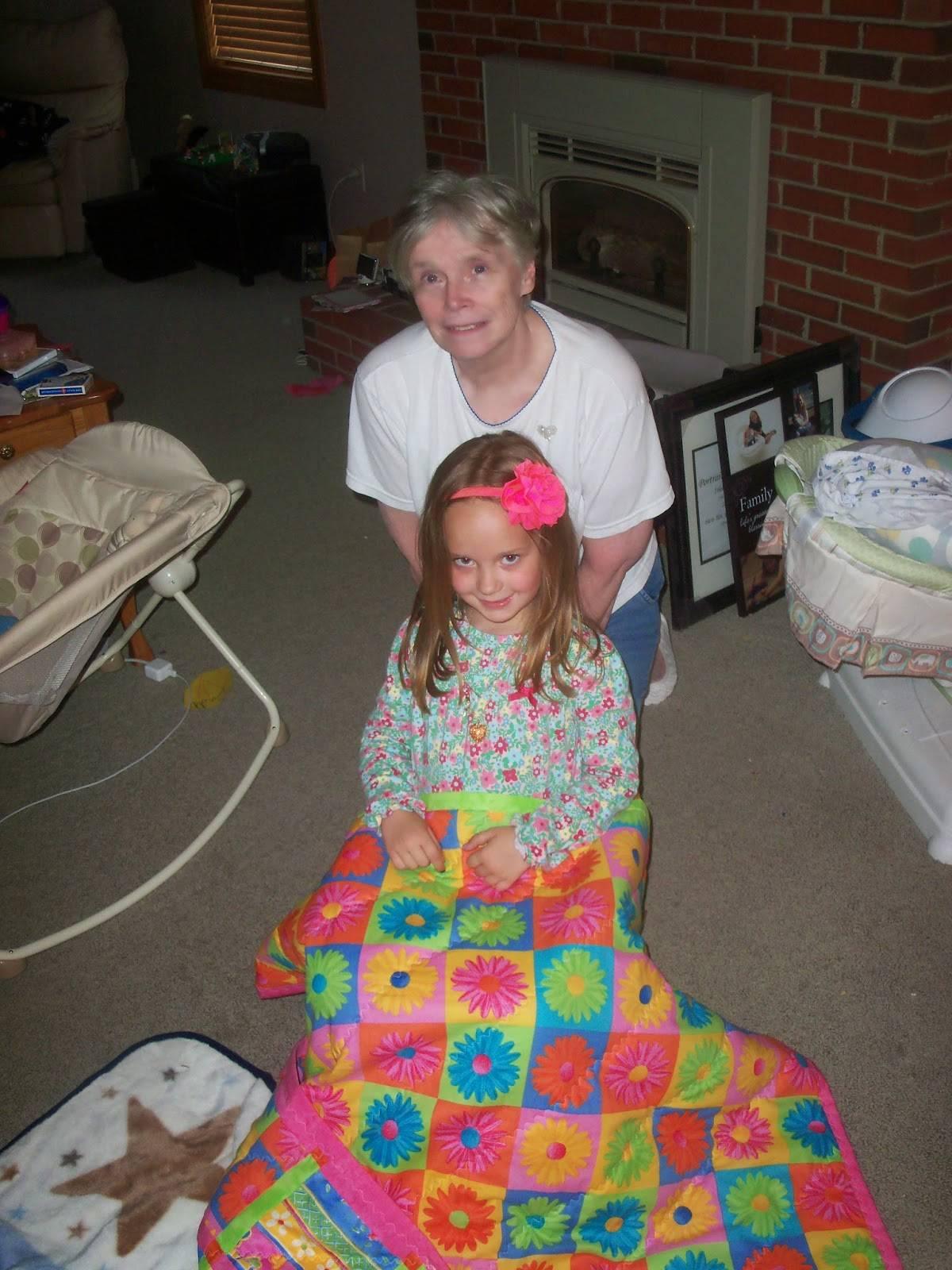 Eighth: Zoe's Crazy Daisy Quilt