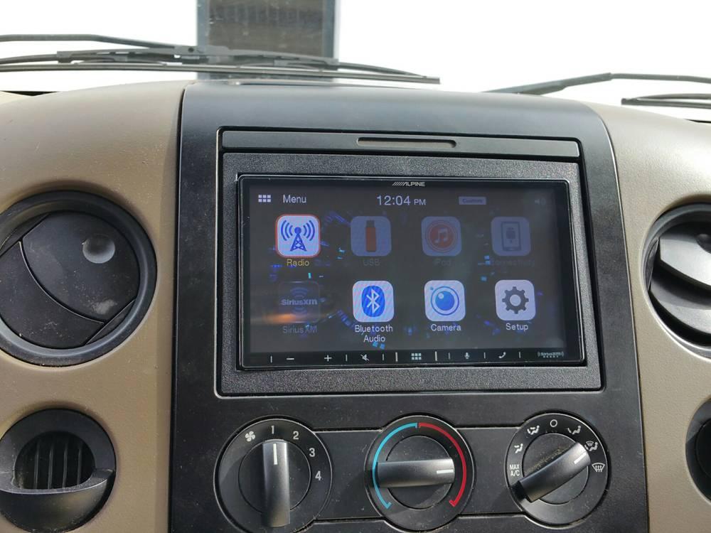 2007 F150 XL Alpine Apple CarPlay Android Auto