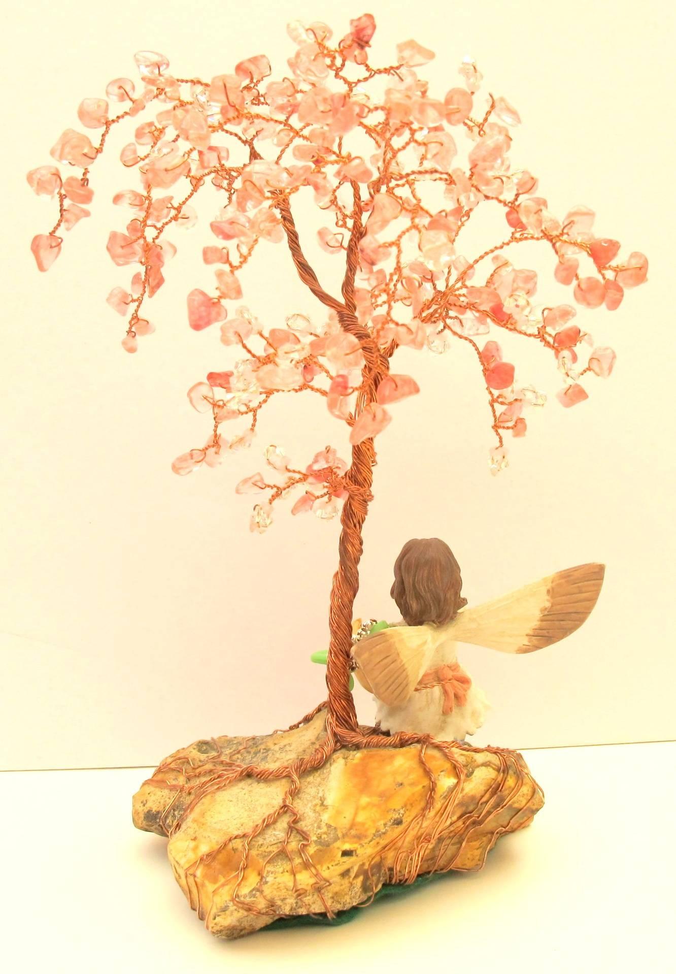 Cherry Quartz Tree