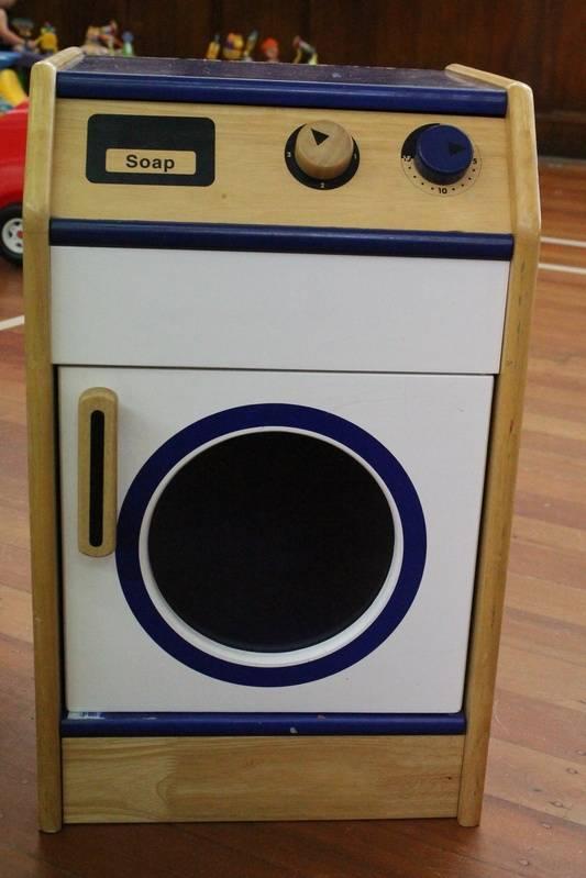 Washing machine - wooden