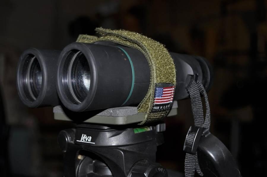 Used with binoculars