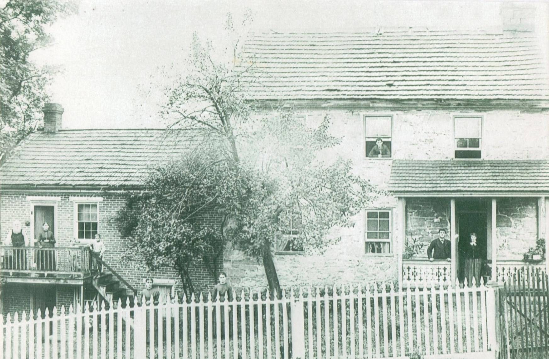 Back View of the Brumbaugh House