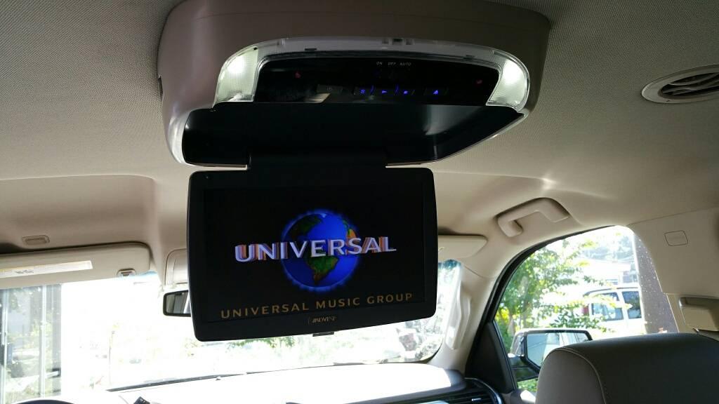 "2016 Tahoe Advent 10"" Overhead DVD System"