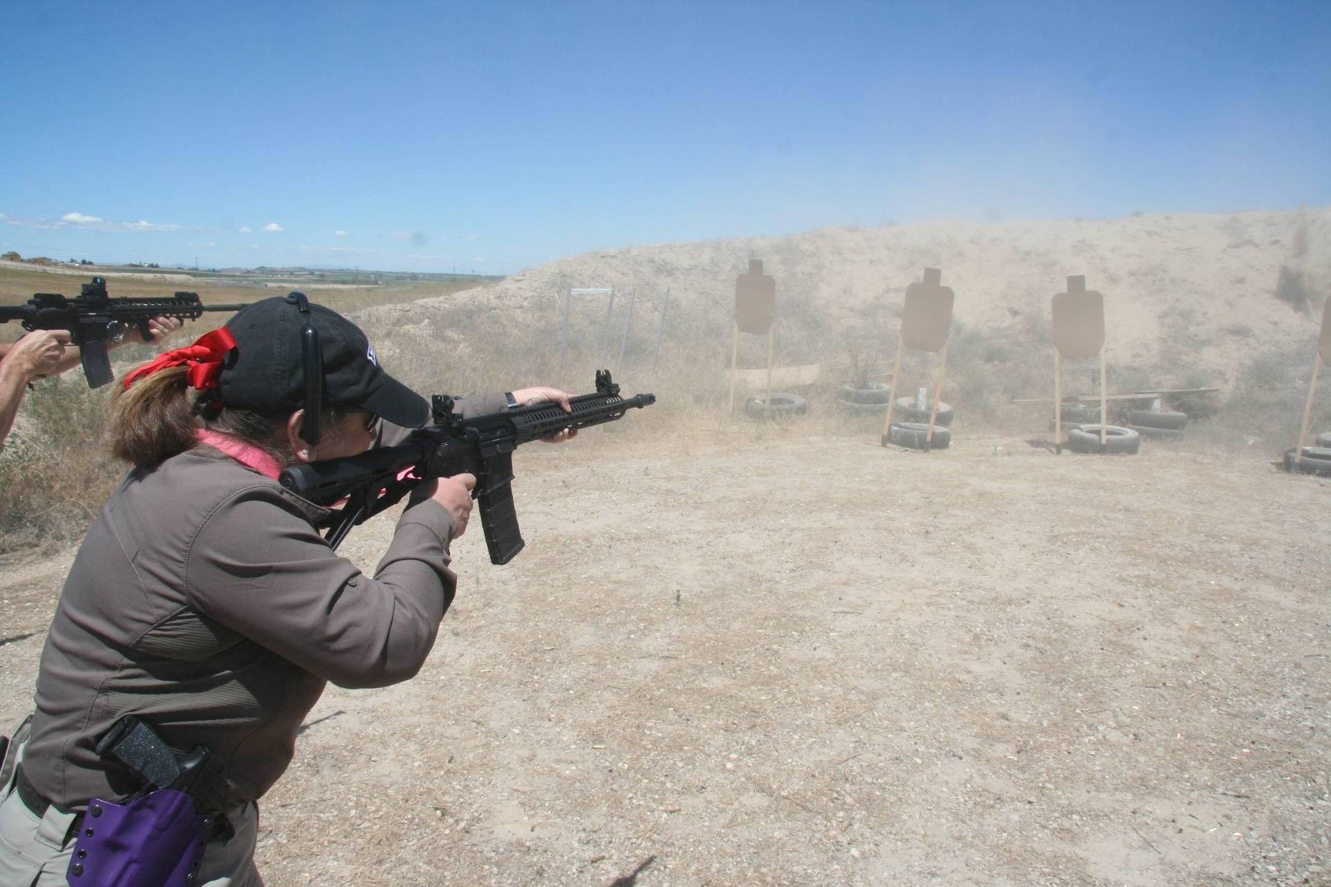 Transition Handgun to Rifle