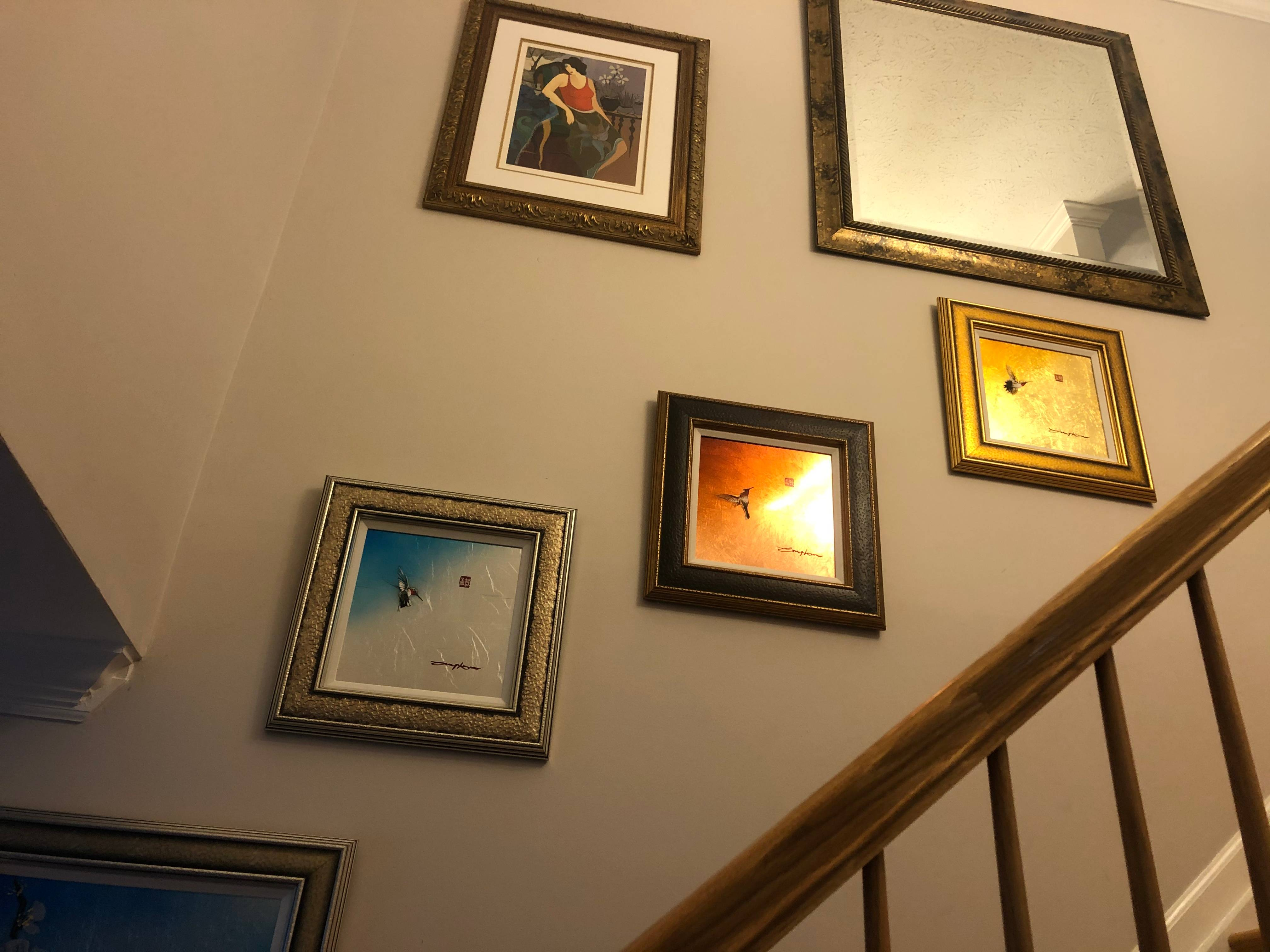 Picture hanging installation in elkridge MD