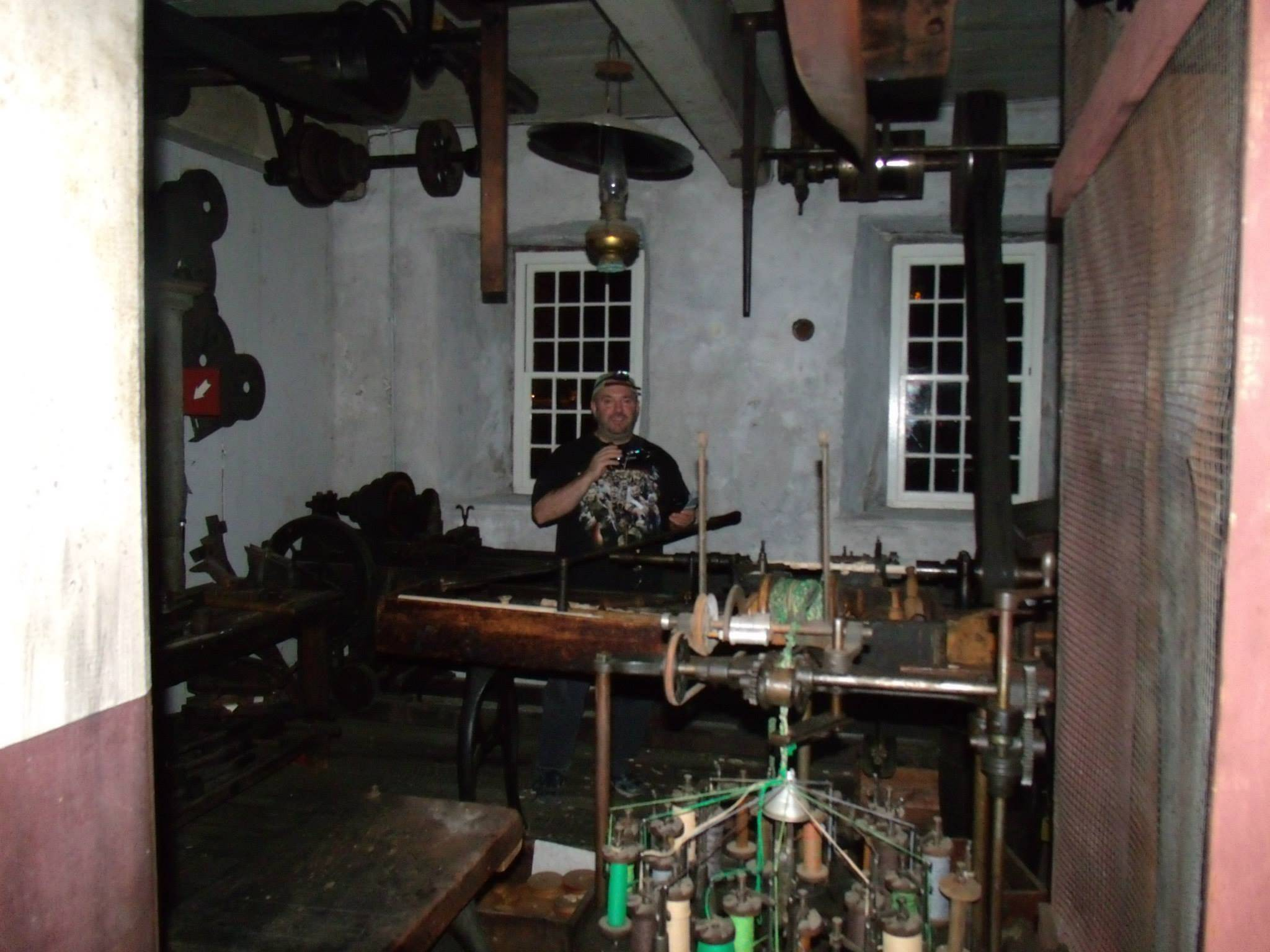 Dom in Slater Mill - Pawtucket RI