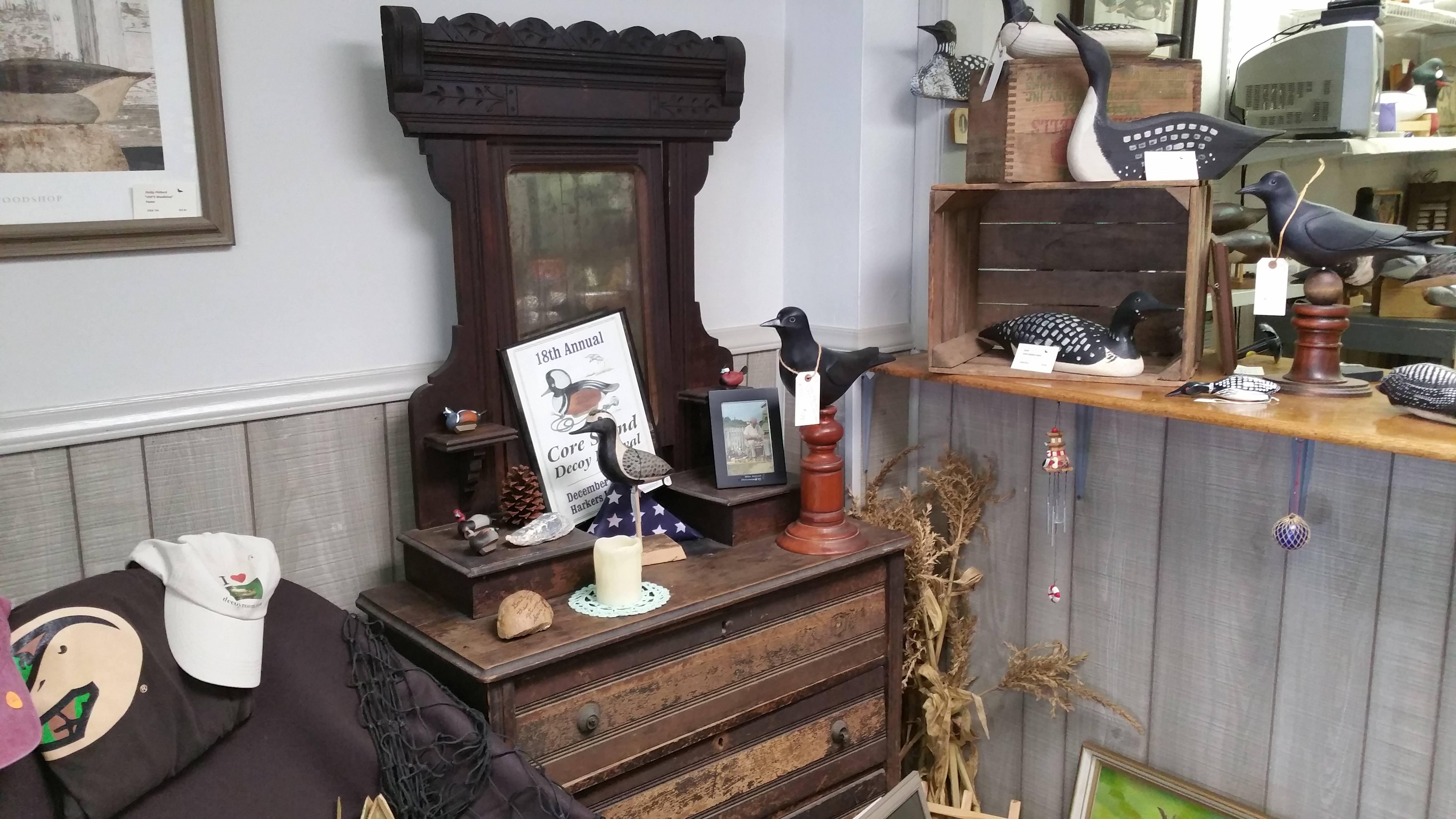 Antique Dresser Display