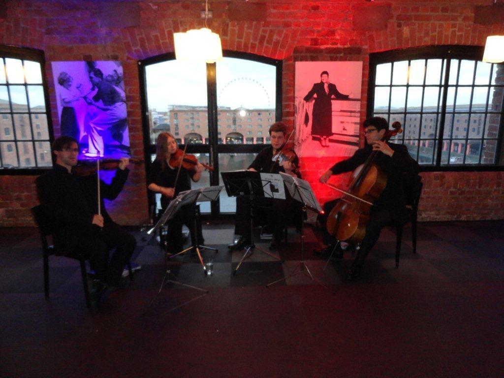 The Quartet at the Liverpool Maritime museum