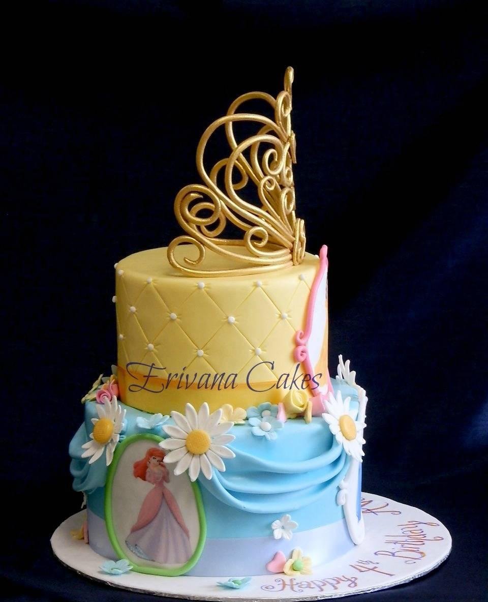 Princess tiara cake 3c
