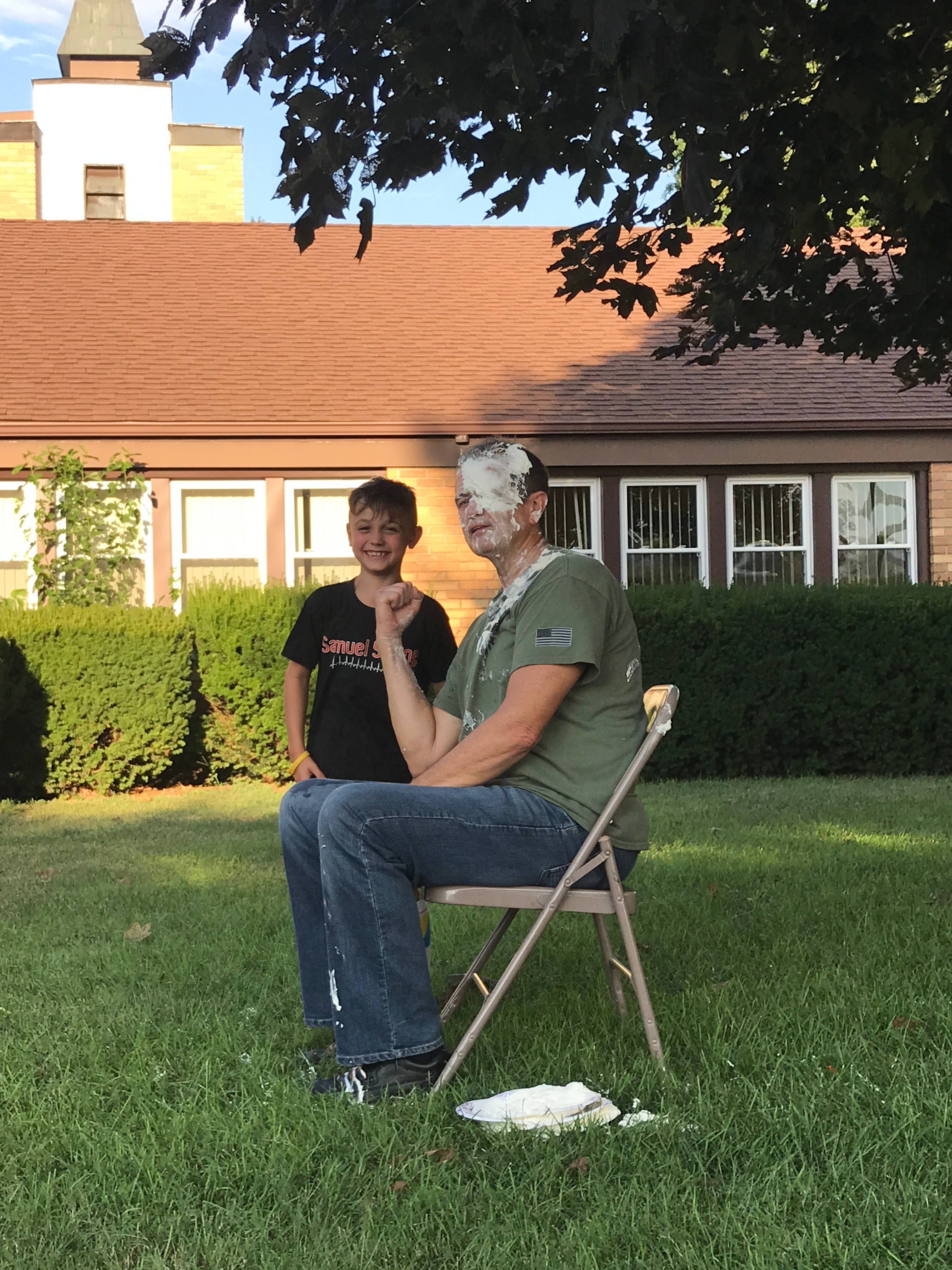 Pastor Dave Gets a Pie in the Face