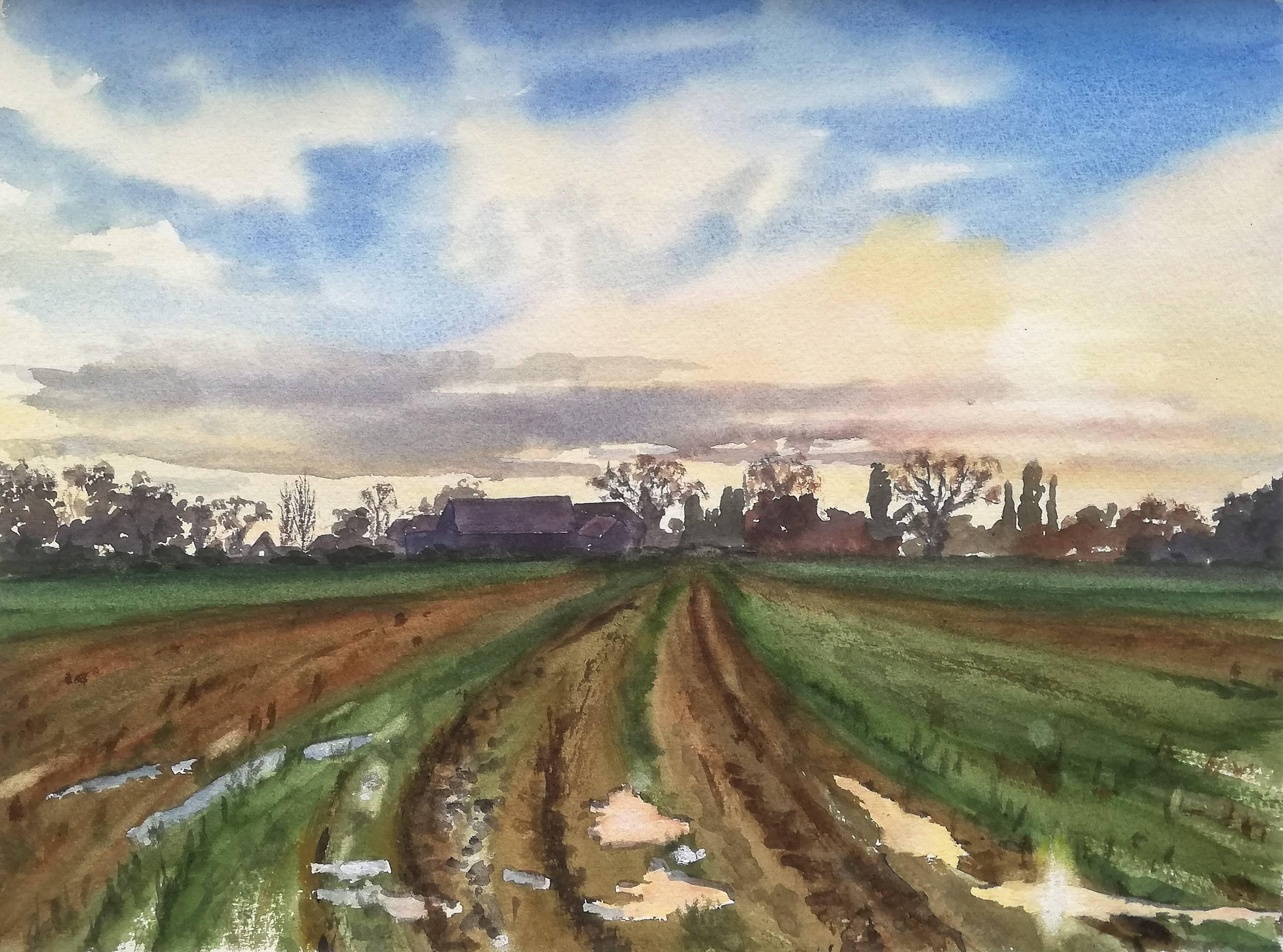 North Barn, Winter