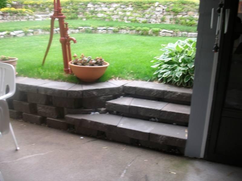 Steps modular block