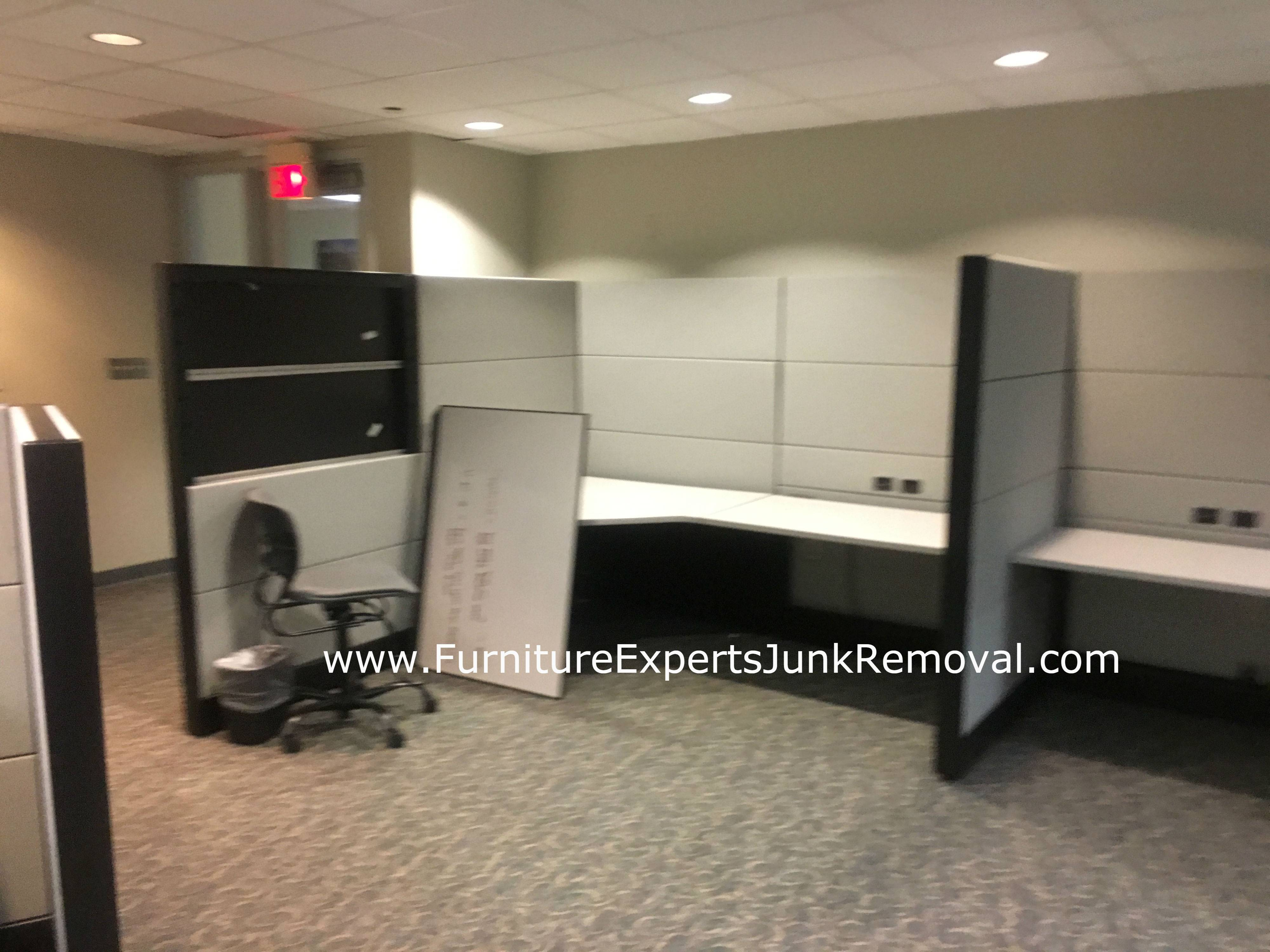 Junk office cubicle removal in sterling VA