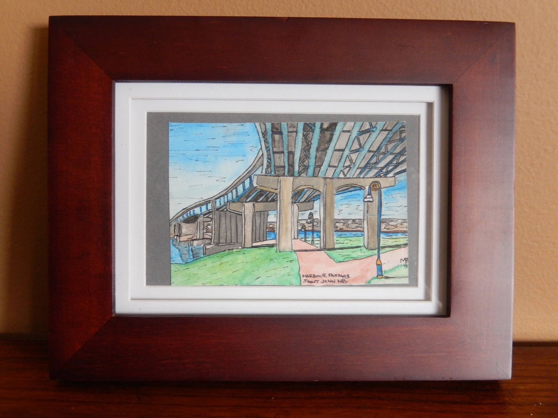 Harbour Passage, Saint John NB 5x4 $75