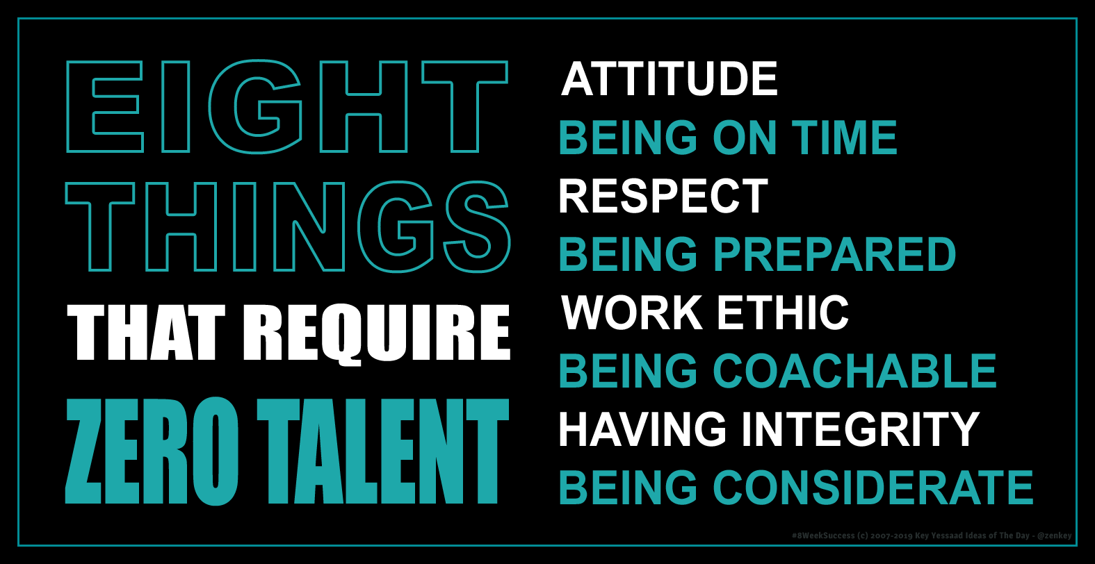 8 Things that Require Zero Talent