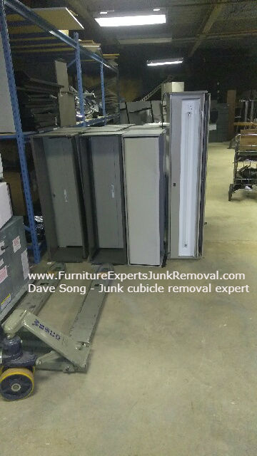 Junk office cubicle removal in annandale VA