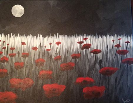 Poppies at Midnight