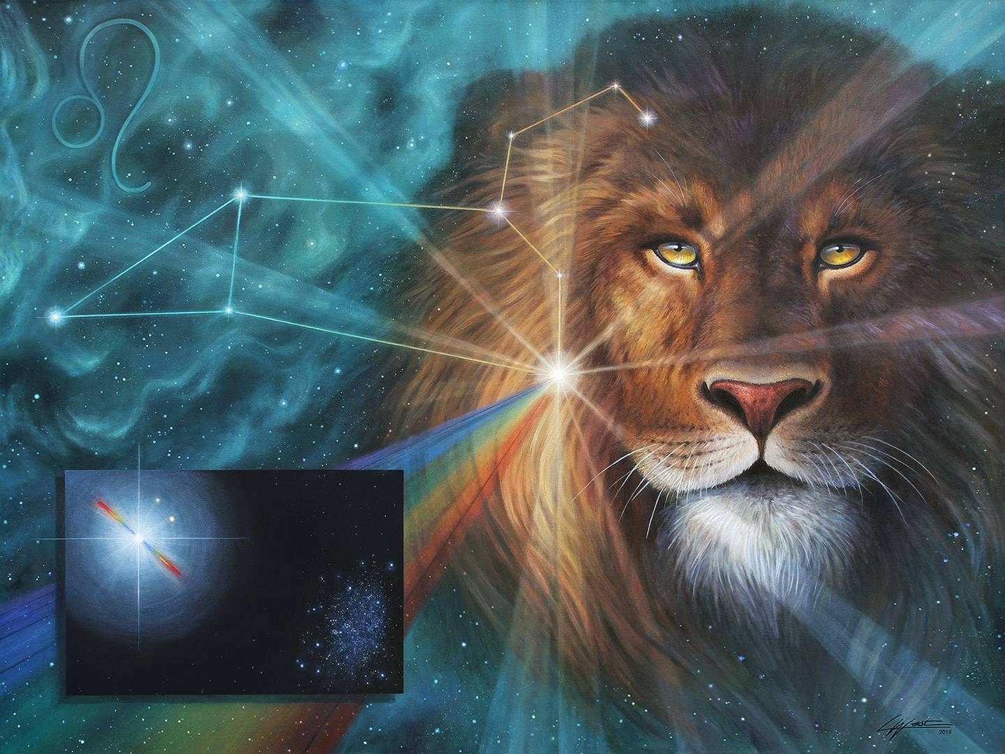 Heart of the Lion: Leo Constellation / 2019