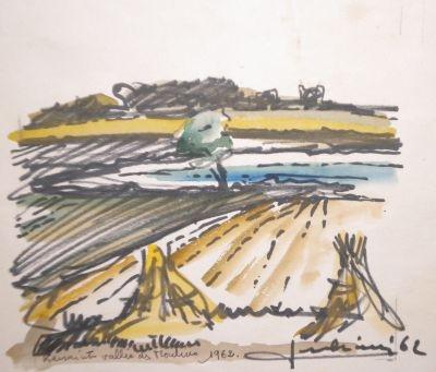 KERSAINT la Moisson 1962