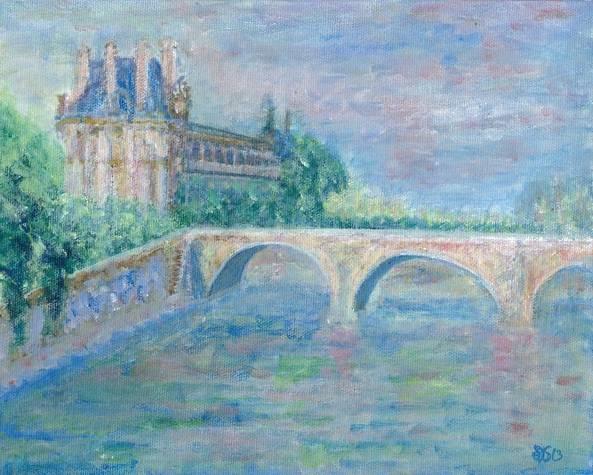 Notre Dame -La Seine - Paris, France