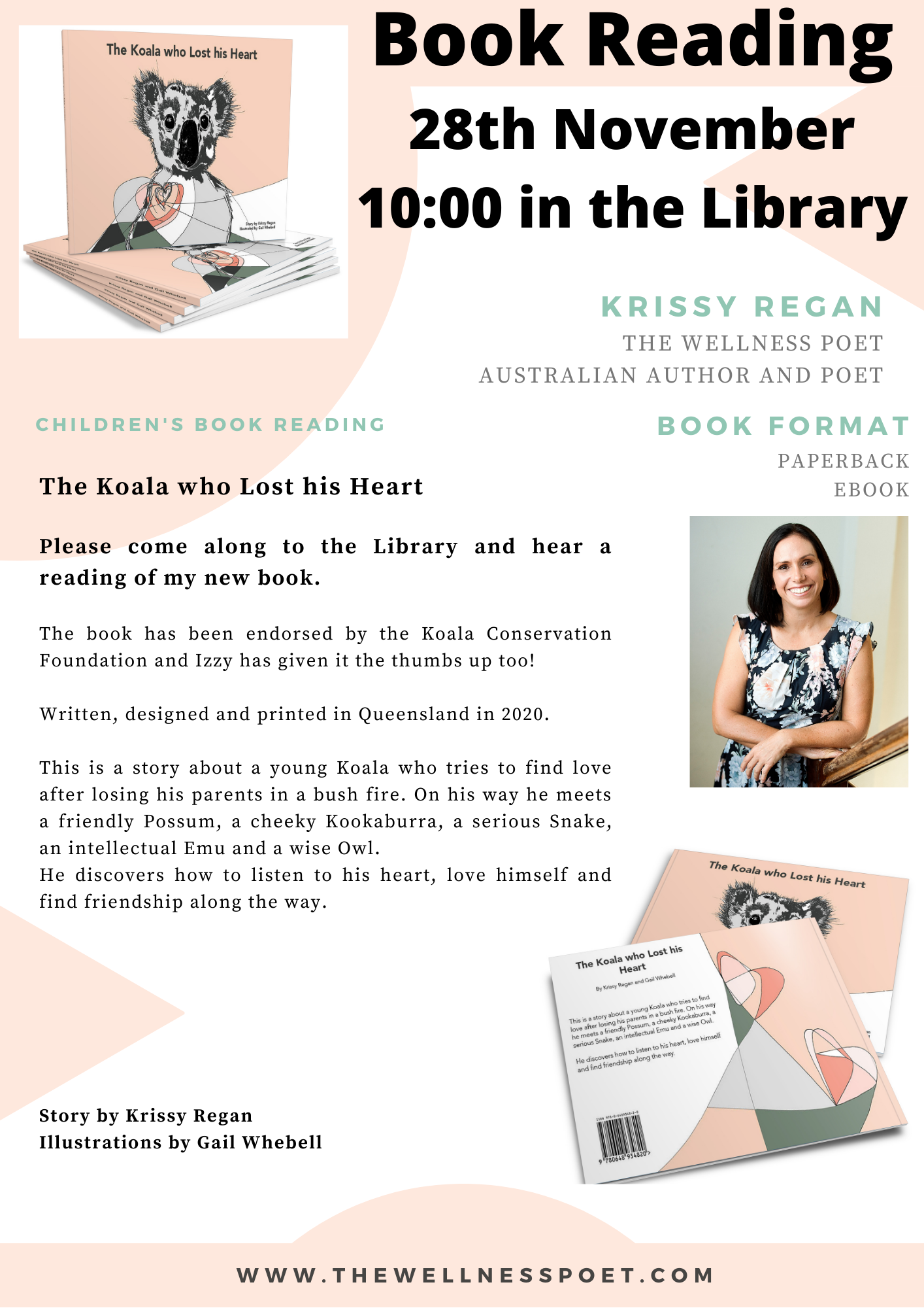 Charters Towers Library Book Reading