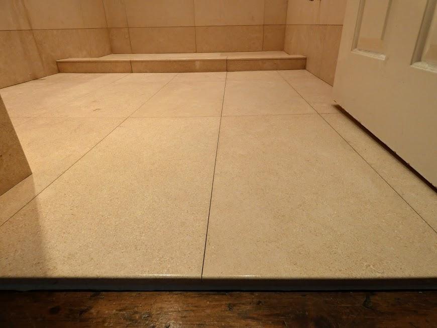 Limestone threshold