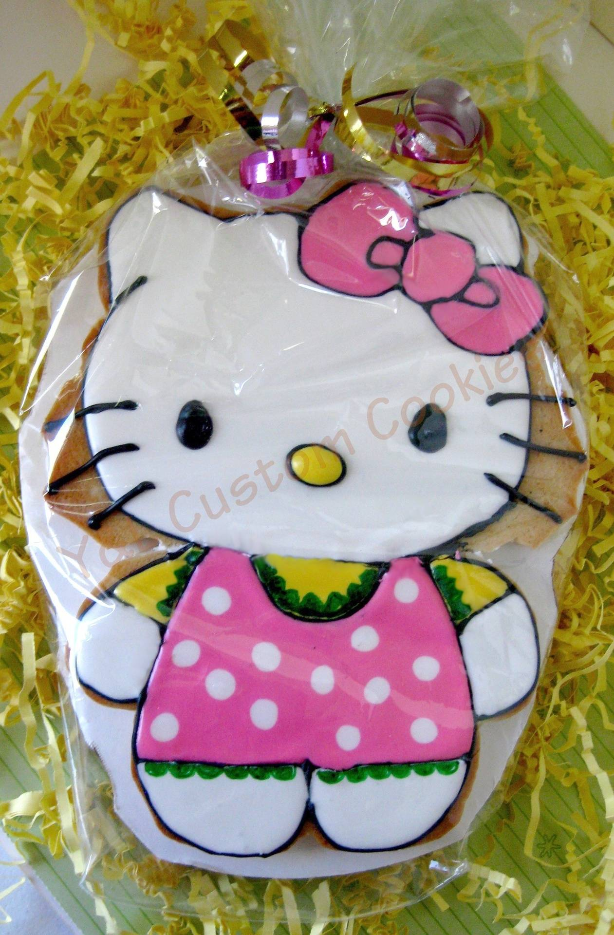 """Hello Cookie Large Cookie (6"""")"""