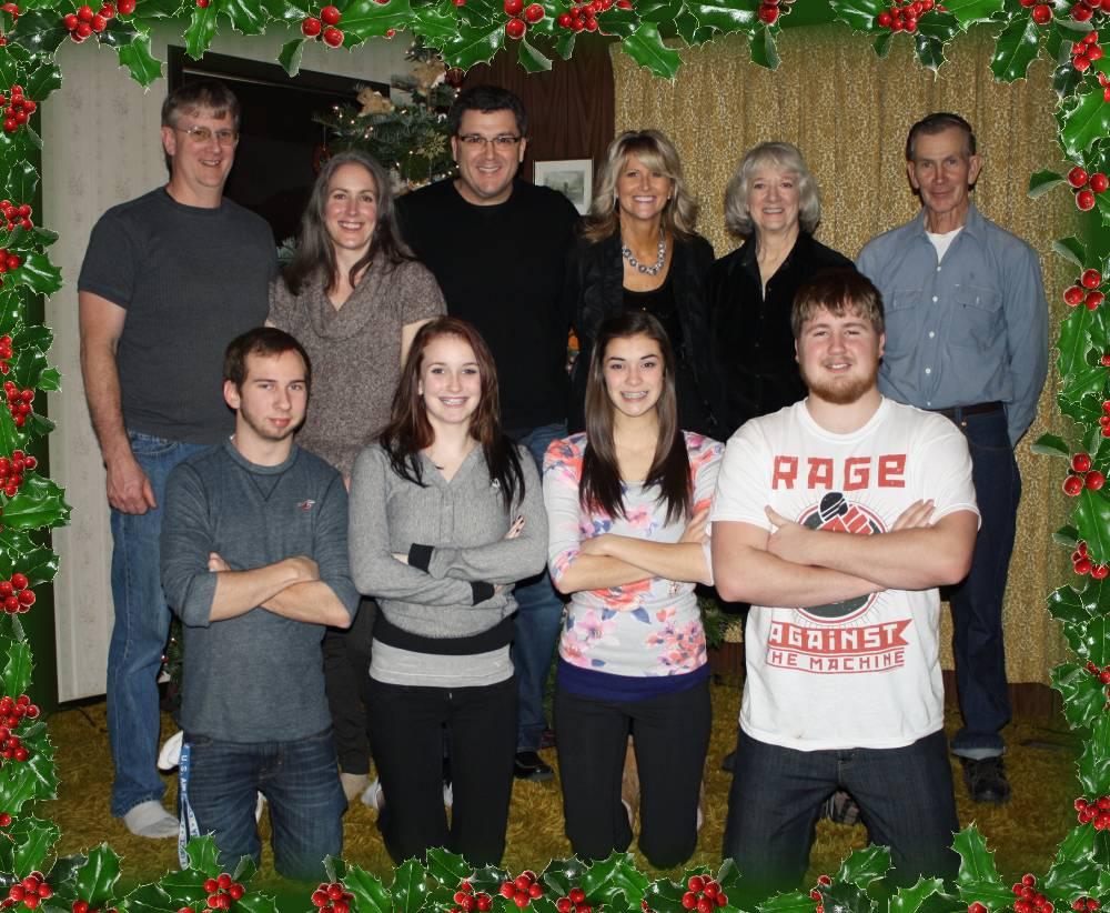 Wynne Family Christmas 2010