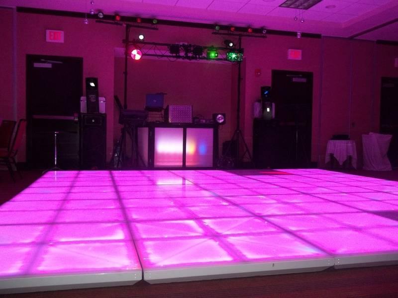 A&S LED LIGHTED DANCE FLOOR