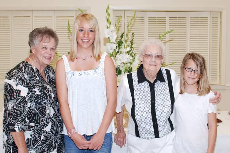 Judy, Brandi, Tannie & Kimberly