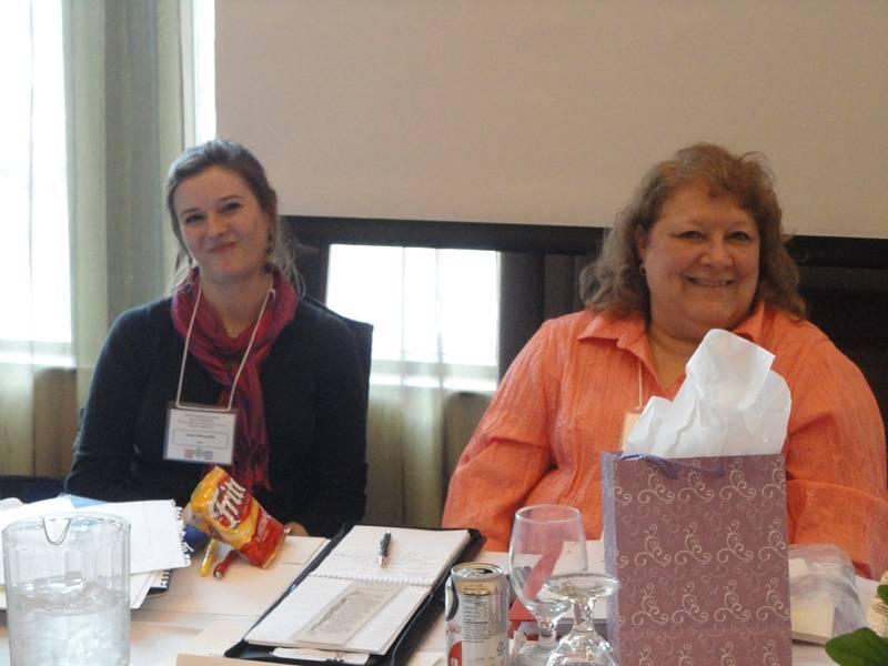 Jaclyn Wissmueller and Katy Mathes-Woldt, PLS, CAP