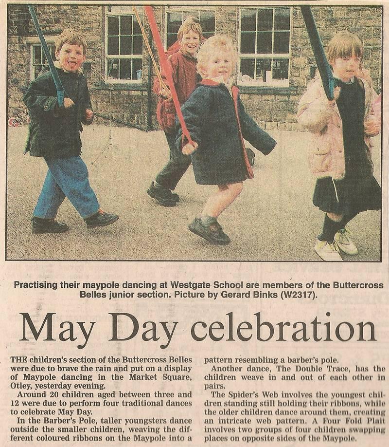 May Day celebration