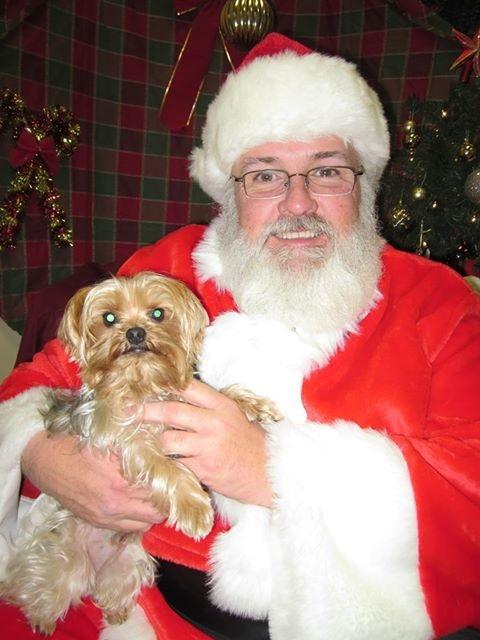 Dexter and Santa