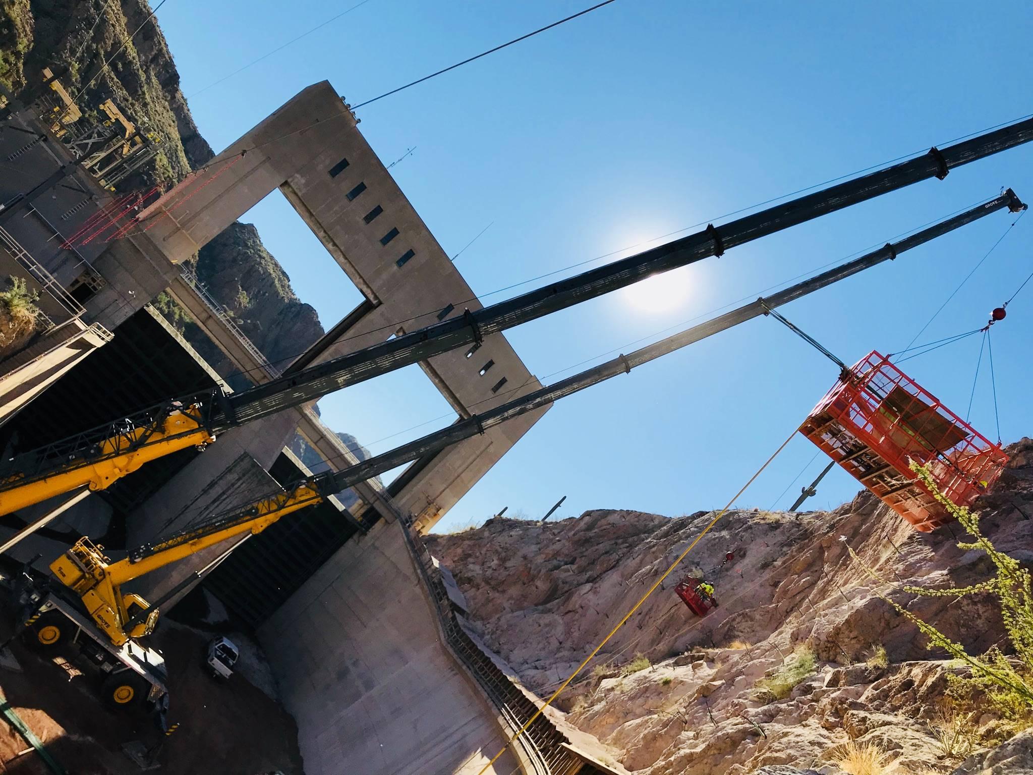 MFD Drill Basket Crane Work