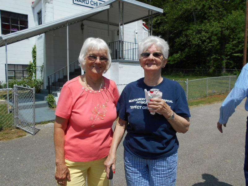 Sonja Hudnall & Ruth Craigo