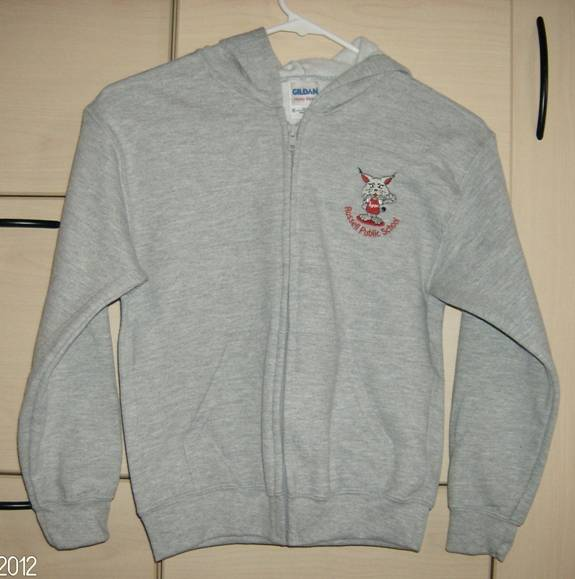Russell Public zipped Hoodie