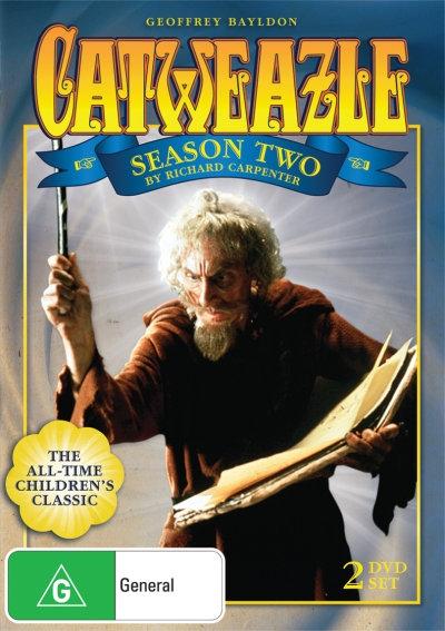 Catweazle - Complete Series Two DVD Set (Australia reg. 4 release)